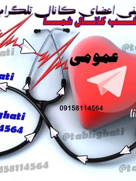 افزایش اعضای کانال تلگرام  عمومی