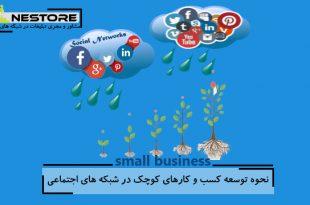 نحوه توسعه کسب و کارهای کوچک در شبکه های اجتماعی
