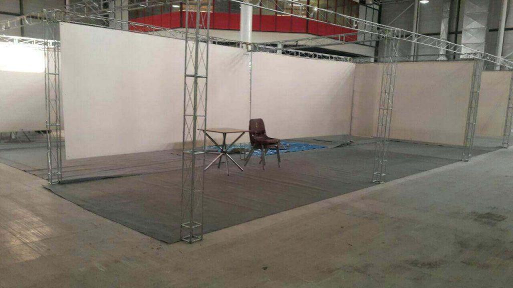غرفه ابتدایی لاین استور در نمایشگاه رسانه های دیجیتال