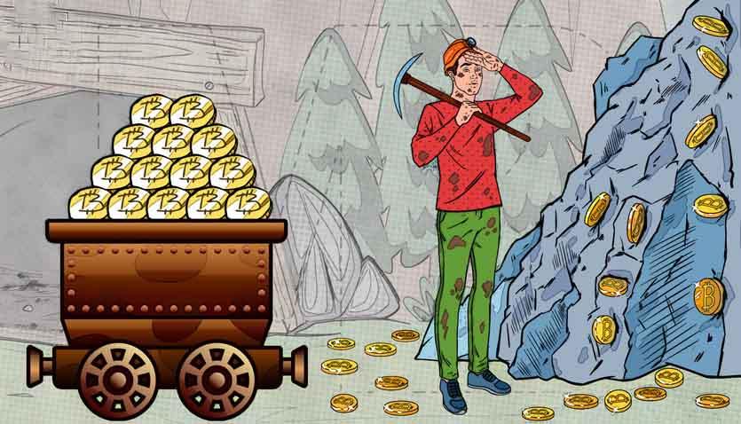 معدن ارزهای دیجیتال و بلاک چین