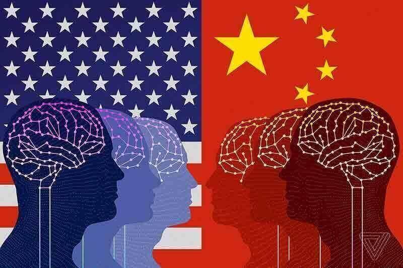 رقابت بین امریکا و چین در توسعه هوش مصنوعی