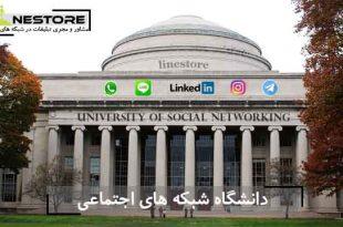 دانشگاه شبکه های اجتماعی در لاین استور