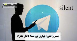 ممبر واقعی اجباری بی صدا کانال تلگرام