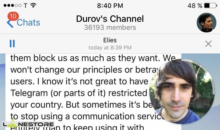 آموزش تبدیل ویدیو به ویدیو مسیج در تلگرام