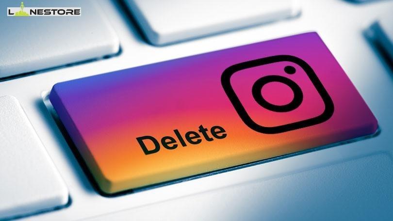 آموزش حذف کردن اکانت اینستاگرام از داخل اینستاگرام