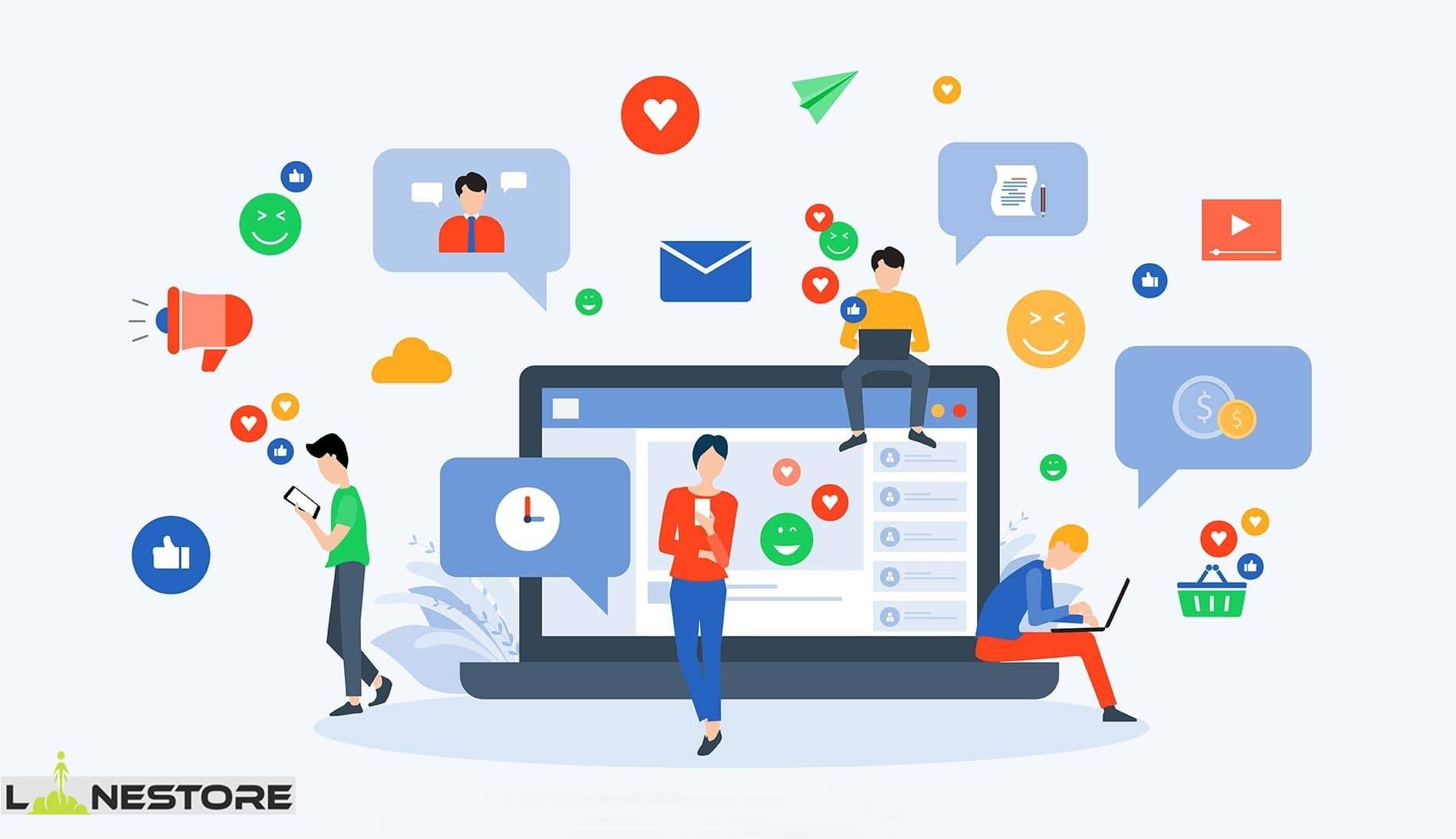 چرا شبکه های اجتماعی برای کسب درآمد مناسب است؟